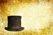 vintage top hat background