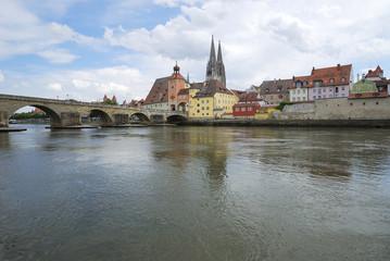 Medieval town Regensburg