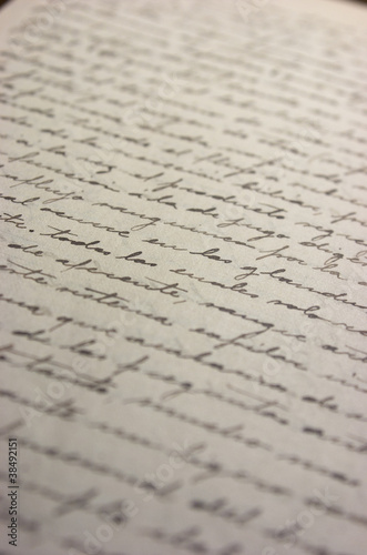 Papel escrito escritura a mano fondo fotos de archivo for Fondos de escrito