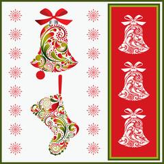 Christmas set. Vector illustration eps.10.