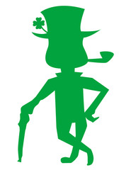 Leprechaun! Vector eps 8 / clip art / jpeg