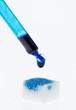 Symbol für Impstoff auf einem Stück Zucker