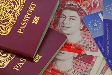 uk bio  passport money health cards