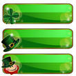 Banners for Saint Patrick's Day