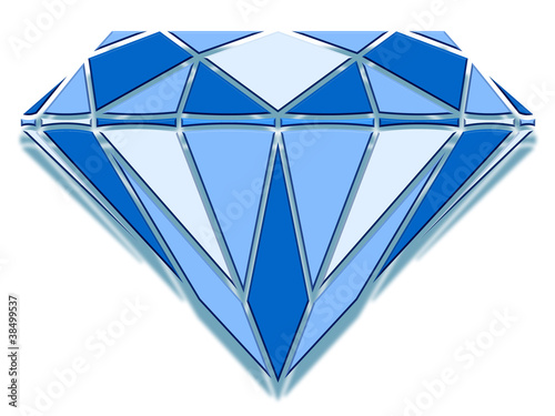 Diamant en relief