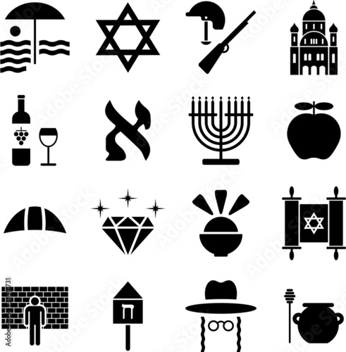 Israel pictograms