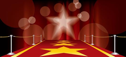red carpet horizontal