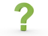 3d Icon Fragezeichen