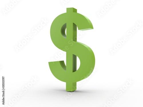 3d Icon Dollarzeichen