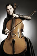Cello player cellist musician