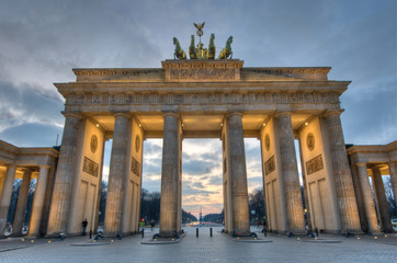 Brandenburger Tor, Berlin / Brandenburg Gate, Berlin