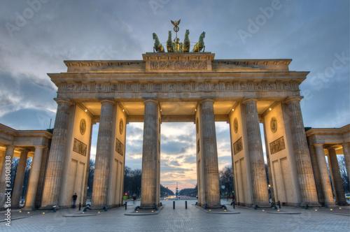 Brandenburger Tor, Berlin / Brandenburg Gate, Berlin