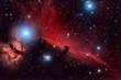 Fototapeten,pferdekopf,nebel,nacht,astronomie
