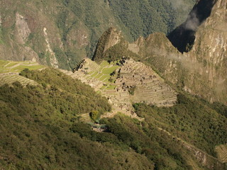 Mountain city Machu Picchu