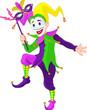 Mardi Gras jester