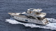 Italy, Mediterranean sea, luxury yacht