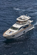 Italy, Mediterranean sea, luxury yacht