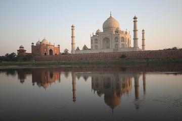 Taj Mahal - Wasserspiele