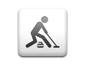 Boton cuadrado blanco curling