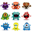 little vector monsters - 38513544