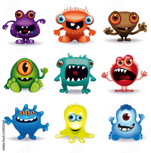 little vector monsters