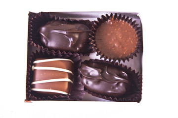 Mini Gift Box of Fancy Chocolates