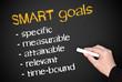 SMART goals - Business Concept