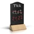 Relèvement du taux de TVA de 19,6 à 21,2%