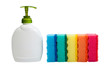 Detergent and kitchen sponges