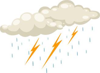 rain icon vector illustration