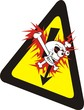health and safety - warning sign