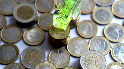 Euros drehen sich im Kreis