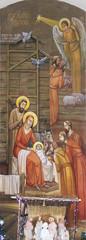 Christmas. Ukraine, Lviv. Artist Jaroslav Protsiv