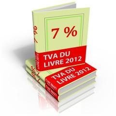 tva 7% du livre 2012 france