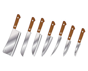 A set of knives
