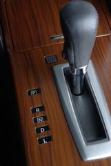 Car gearstick automatic transmission