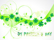 abstract sant patricks background