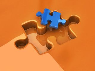 Small jigsaw puzzle piece