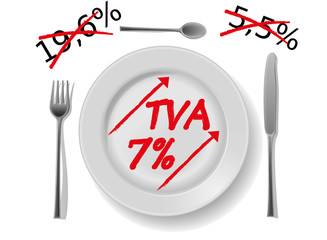 restauration tva 7% france 2012