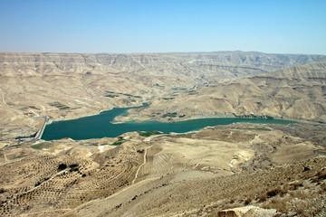 Dam in the desert