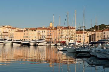 Hafen von Saint Tropez