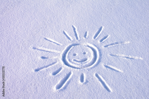 Rysunek śnieg © nestonik