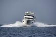 Italy, Tuscany, Elba Island, luxury yacht