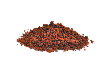 Pile of Coffe Powder