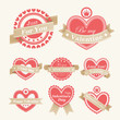 Valentine`s Day Labels