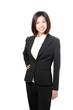 Beautiful Business woman confident smile portrait