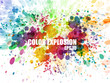 Abstract colorful splash watercolor background - 38537346