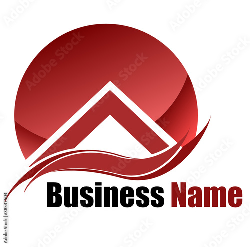 Home logo business (vector)