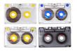 Four tape cassettes