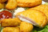 crocchette di pollo e